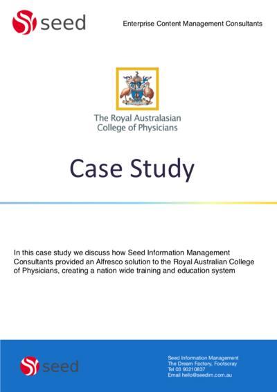 ecm case study racp